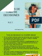 Tcnicas de Toma de Decisiones