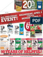 Ace Hardware's 90th Anniversary Sale