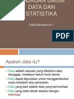 KOnsep Data Dan Statistika