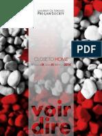 Voir Dire - Issue 3 (2013-2014)