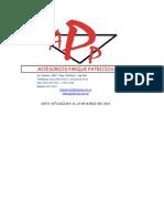 Lista Acc. Patricios 13-3-2014