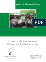 Libro Retos en La Educacion Basica de America Latina
