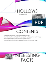 Fred Hollows Power Point
