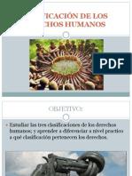 CLASIFICACIÓN DE LOS DERECHOS HUMANOS PRMERA, SEGUNDA Y TERCERA GENERACIÓN 03-A-2