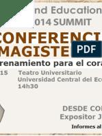 Conferencia Magisterial IMEI