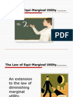 7002525 the Law of EquiMarginal Utility Ppt