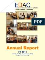 FY 2013 EDAC Annual Report