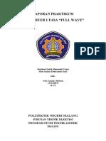 Laporan Praktikum (Elektronika Daya)