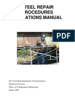 24 - Steel Repair Procedures Operations Manual Ny Dot