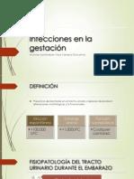 Infecciones en la gestación