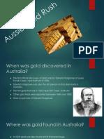 aussie gold rush