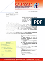 Oficio N° 074-2014 CEN SUTEP