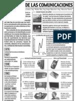 El avance de las comunicaciones - Infografía