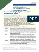Triple Anti Platelet