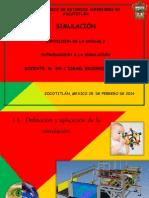 Int. a La Simulacion