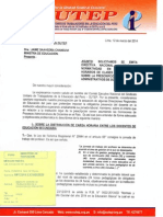 Oficio N° 076-2014 CEN SUTEP