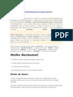 TECNICA - Molhos e Sopas