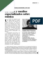 Andres-Ruiz-Tarazona la música en los medios hoy