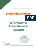 Controle Interne Du SI Assises Securite 2009