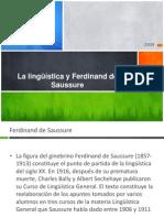 Ferdinand de Saussure1