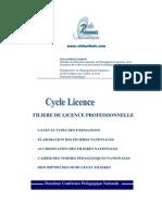 Filiére de Licence professionnelle_clubnetinfo.com