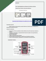 Modulo Diseño actividad  INSTRUMENTOS ELECTRICOS