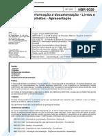 NBR 6029 (Set 2002) - Informação e documentação - Livros e folhetos - Apresentação