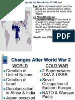 ChangesinWorldAfterWW2 and Decolonization