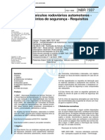 NBR 7337 (Fev 1998) - Veículos rodoviários automotores - Cintos de segurança - Requisitos