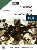 Cultivo de Calabazas
