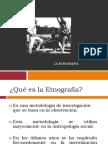 Etnografìa