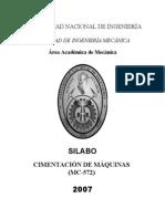 Cimentacion de Maquinas (silabus).doc