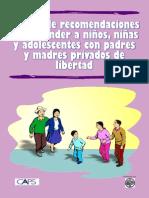 Manual Para Hijos de Padres Encarcelados