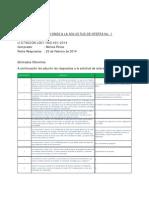 Aclaraciones a La SDO Proyectos Solares Guatemala