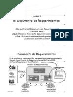2. DERCAS - El Documento de Requerimientos