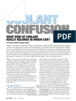 Coolant Confusion