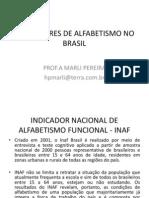 Indicadores de Alfabetismo No Brasil