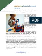 El juego y los padres de niños con trastorno del espectro autismo