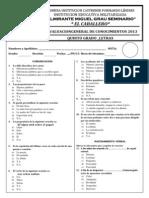 Examen de Quinto Letras (Terminado)