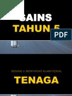 Sains t5 Bentuk Tenaga
