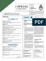 Autoriza a ARSAT prestar servicios TDT - Decreto N°835 de 2011