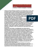 LA LITERATURA LESBIANA ESPAÑOLA