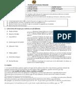 Evaluación de Ciencias Naturales 8° fenomenos electricos