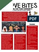 Love Bites Info Flyer PDF