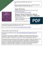 A3 Najeemah 2012 Study of Social Interaction