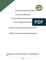 Cuestionario u1 Fundamentos de Finanzas