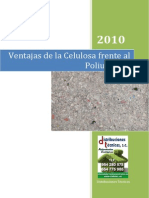 Ventajas de La Celulosa Versus Poliuretano