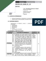 SESIÓN DE CLASE Nº 10-CONSTRUCCIÓN DE MENSAJES LOCALES Y GLOBALES-IDEAS PRINCIPALES Y SECUNDARIAS