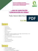 Curso de capacitación COMUNICACIÓN NO VERBAL