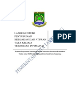 Kebijakan & Aturan Tata Kelola TI Pemerintah Kota Tangerang